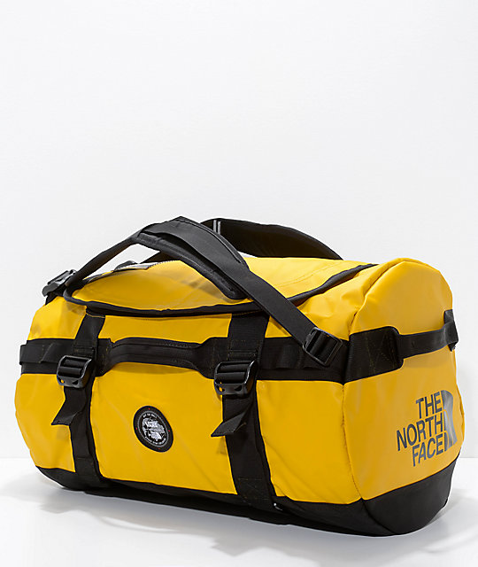 fec6d95dac Vans x The North Face Base Camp Yellow 50L Duffel Bag