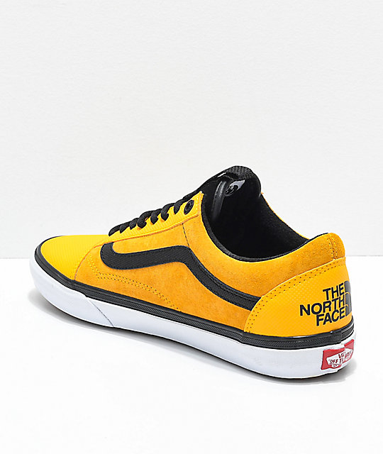 ... Vans x The North Face Old Skool MTE Yellow Shoes ... 8d3813f8c