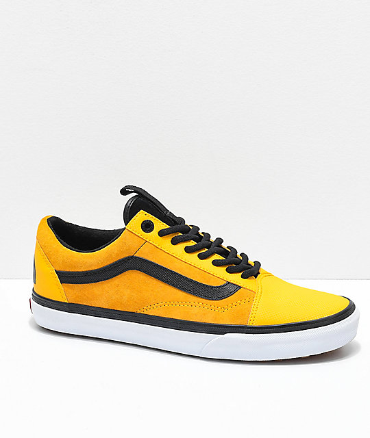 Vans x The North Face Old Skool MTE Yellow Shoes  b157105a6