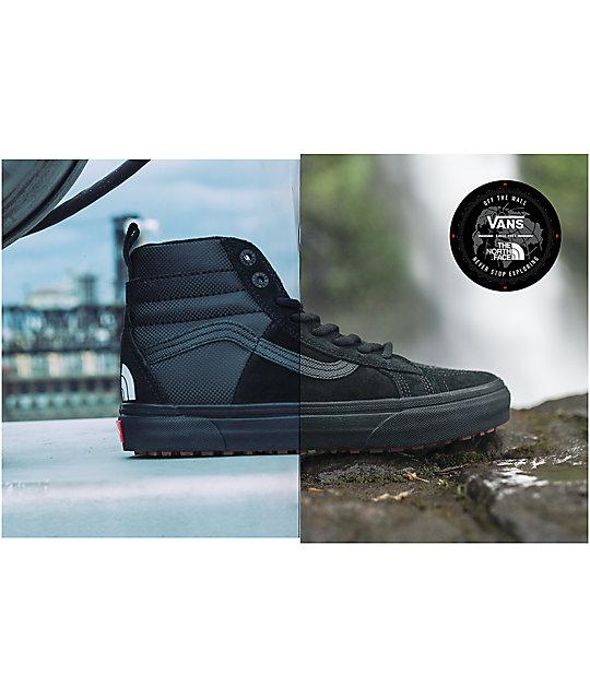 1c0a46b4178918 ... Vans x The North Face Sk8-Hi MTE All Black Shoes