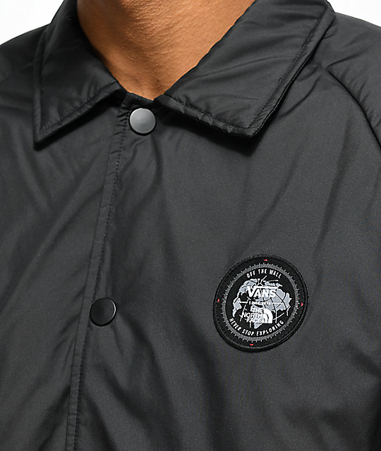 abed38d146e8 ... Vans x The North Face Torrey MTE Black Coaches Jacket ...