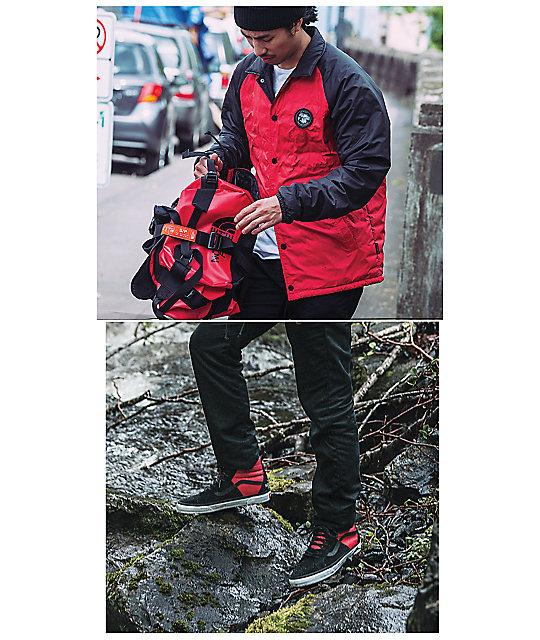 69c37fb56ca5 ... Vans x The North Face Torrey MTE Red   Black Coaches Jacket