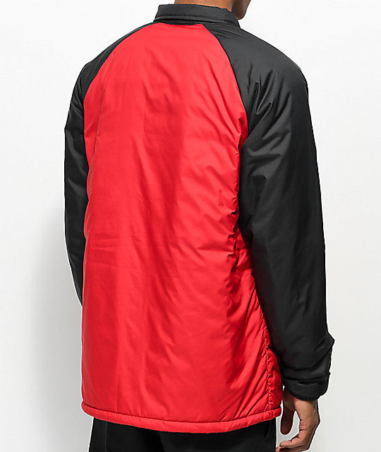... Vans x The North Face Torrey MTE Red   Black Coaches Jacket ... 6f662c538