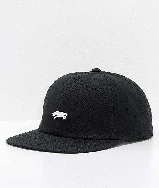 Vans x Thrasher Jockey 6 Panel Black Strapback Hat  cdfcf7d536a