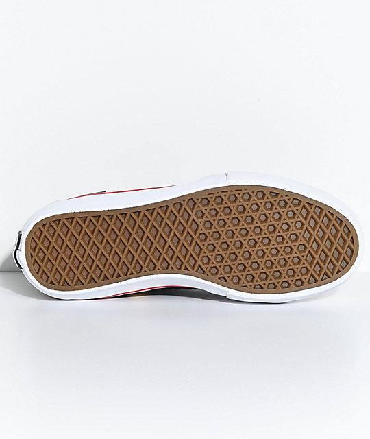 dd1d4f218c2 ... Vans x Thrasher Sk8-Hi Pro Black Skate Shoes ...
