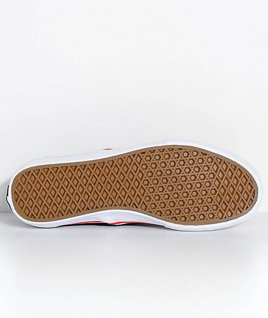 en Slip Pro Thrasher On x zapatos skate negro de Vans wqIE8AE