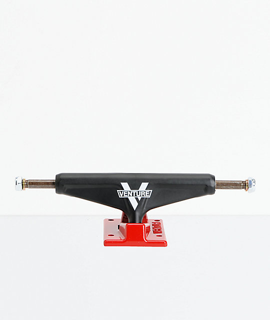Venture Nitro Black & Red 5.2 Lo Skateboard Truck