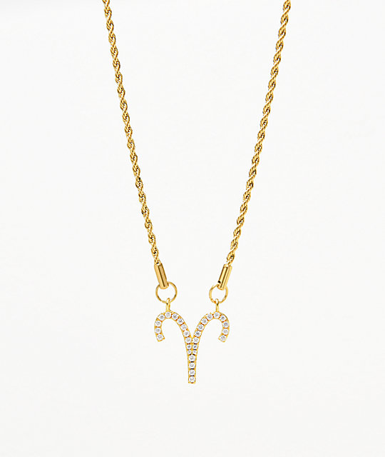 Vesso Aries Gold Women's Necklace