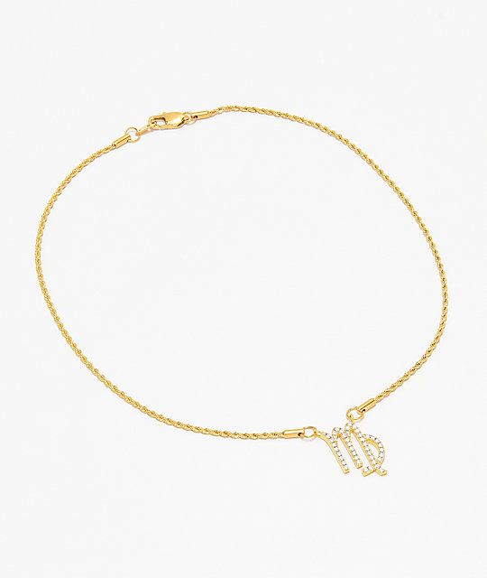 Vesso Virgo Gold Women's Necklace