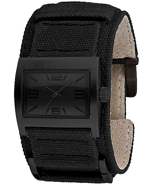Vestal Legionnaire Black Analog Watch