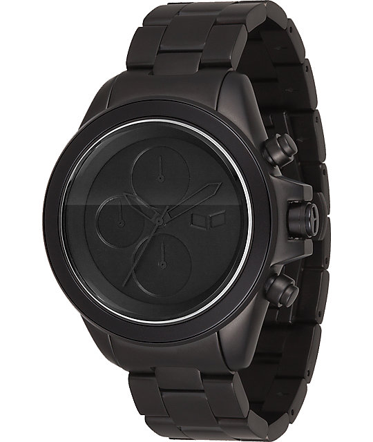 Vestal ZR-2 Matte Black Chronograph Watch