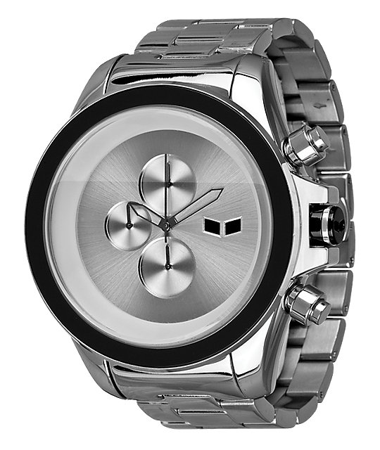 Vestal ZR-3 Minimalist Silver Analog Watch