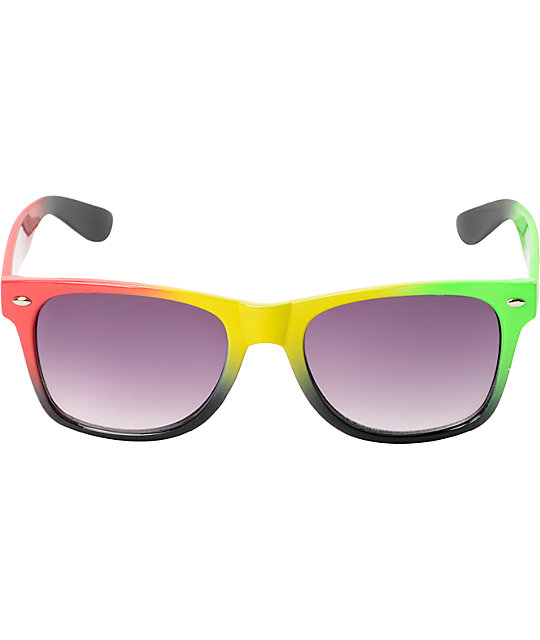Vice Rasta Fade Sunglasses