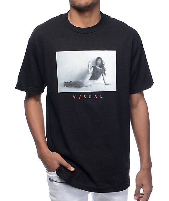 Visual 7 Black T-Shirt