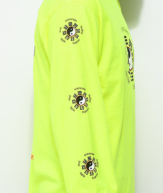 Vitriol Harmony Lime Long Sleeve T-Shirt
