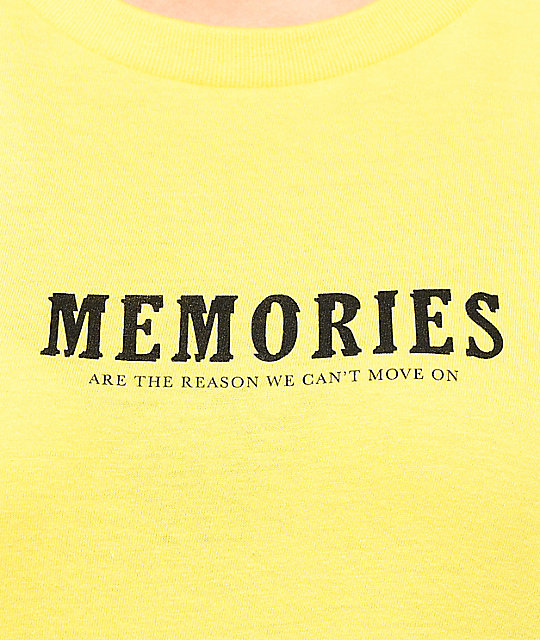 Vitriol Memories camiseta amarilla