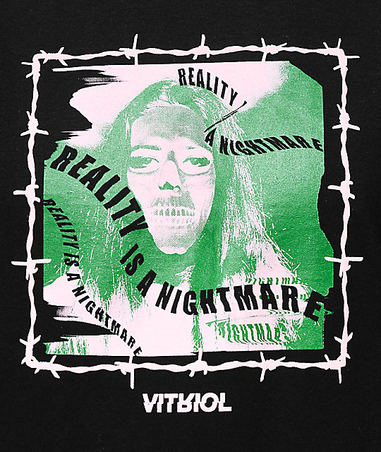 Vitriol Nightmares Black T-Shirt