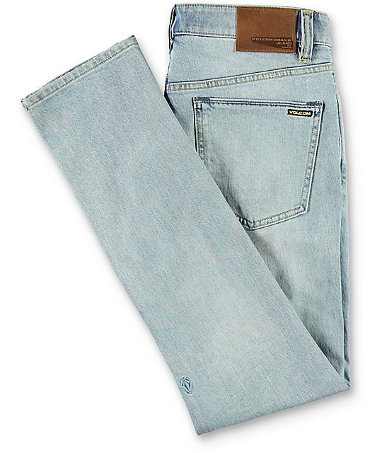 Volcom 2X4 Light Blue Skinny Jeans