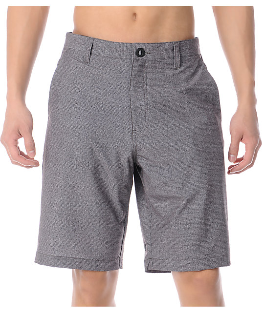 Volcom 4Way Stretch Frickin 22 Brown Hybrid Shorts