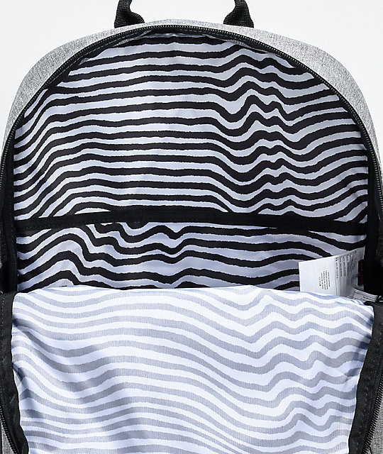 Volcom Academy Grey & Black Backpack