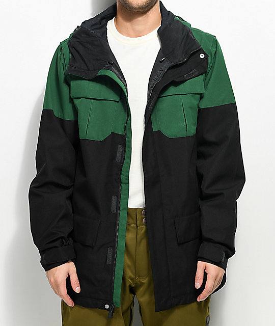 683325b15dc47 ... Volcom Alternate Snow Forest 15K chaqueta de snowboard