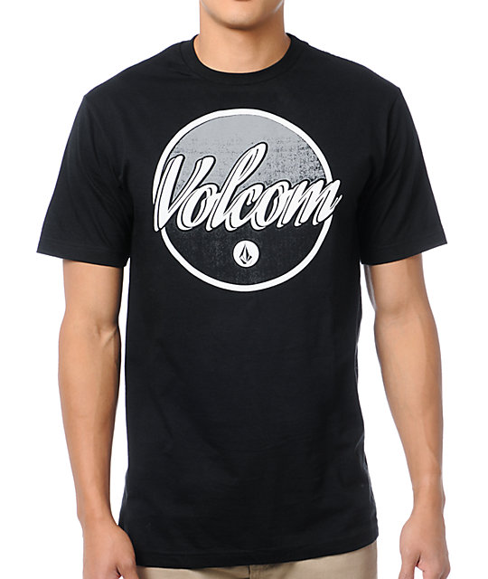 Volcom Barned Black T-Shirt