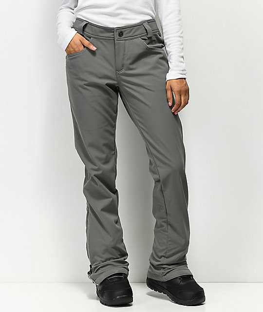 Volcom Battle Stretch Charcoal 10K Snowboard Pants