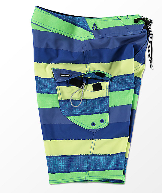 Volcom Boys Magnetic Liney Mod Board Shorts