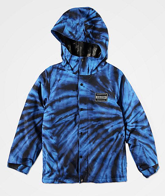 fc773bbdd9 Volcom Boys Ripley Blue 10K Snowboard Jacket