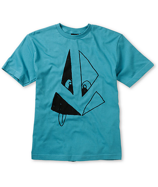 Volcom Boys Silly Stone Blue T-Shirt