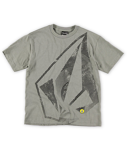 Volcom Boys Slinkster Grey T-Shirt