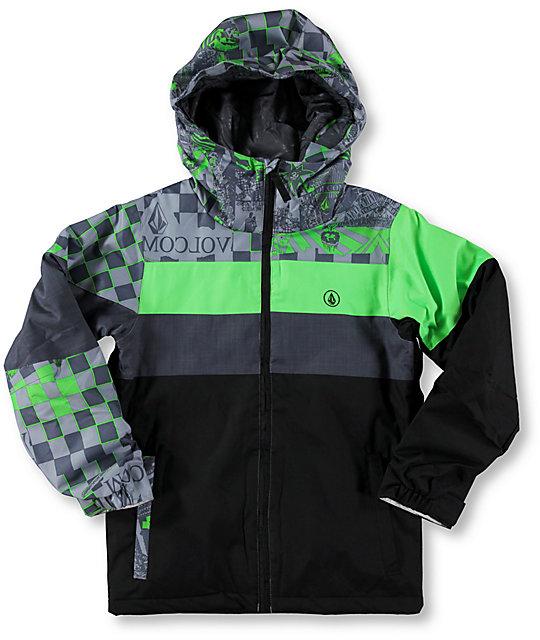 d5ad15cde Volcom Boys Social Ins 8K Snowboard Jacket