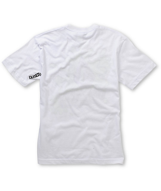 Volcom Boys Splatt White T-Shirt