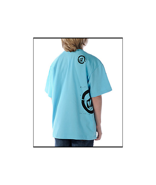 Volcom Boys Stone Basic Sky T-Shirt