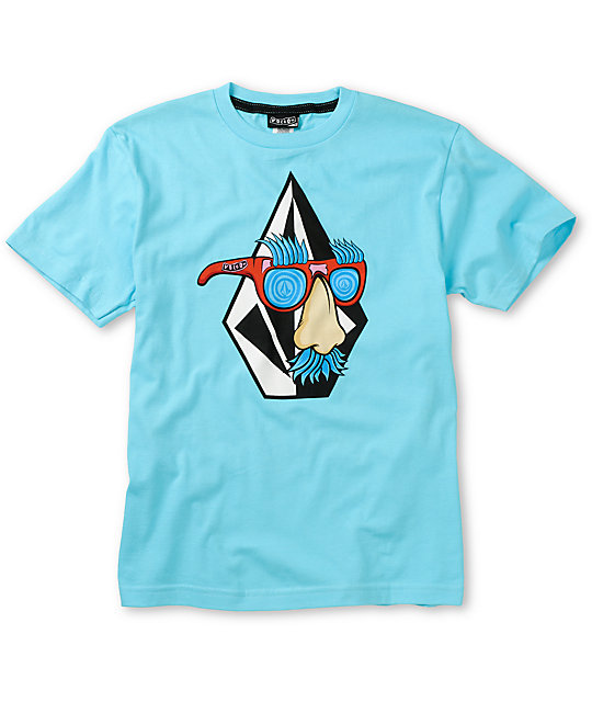 Volcom Boys Weirdo Blue T-Shirt