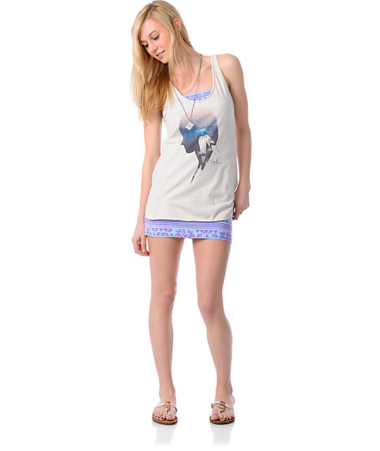 Volcom Brain Freeze Renee Tank Top