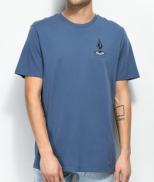 Volcom Burch Eye Blue T-Shirt