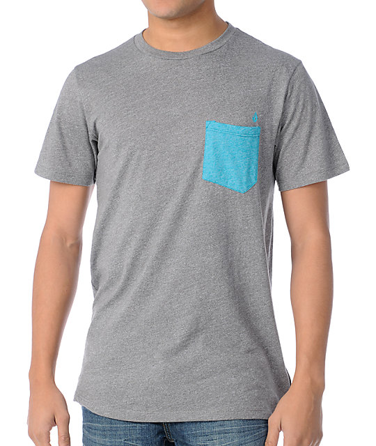 Volcom Calhoun Tri-Blend Pocket T-Shirt