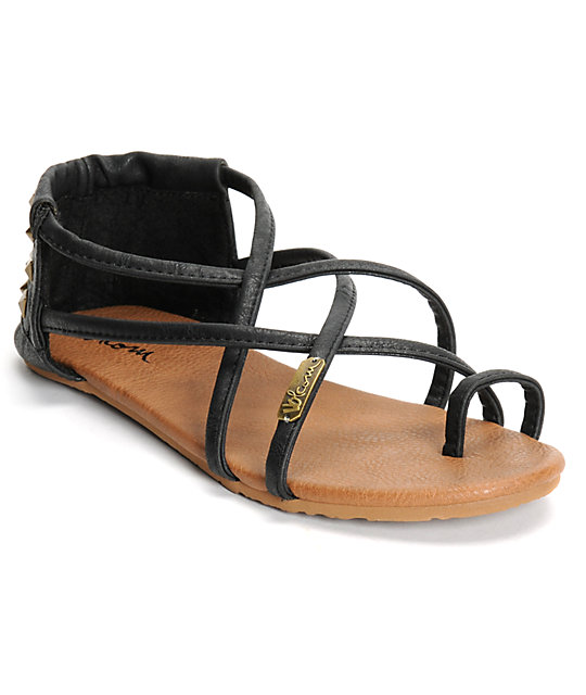 1fd2ee74a Volcom Chill Out Black Sandals