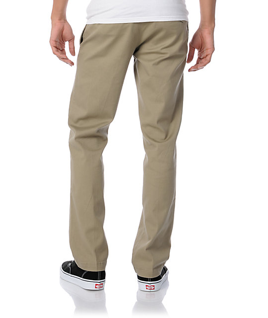 Volcom Clearwater Regular Fit Khaki Chino Pant