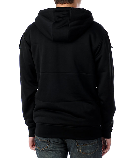 Volcom Covert Black Tech Fleece Jacket