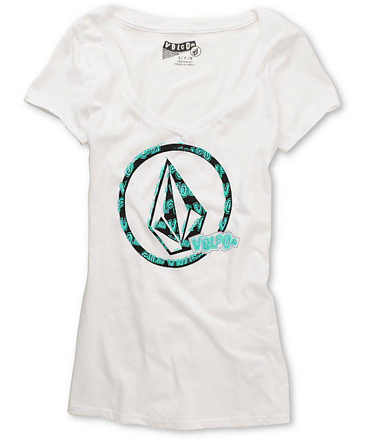 Volcom Crop Duster V-Neck T-Shirt