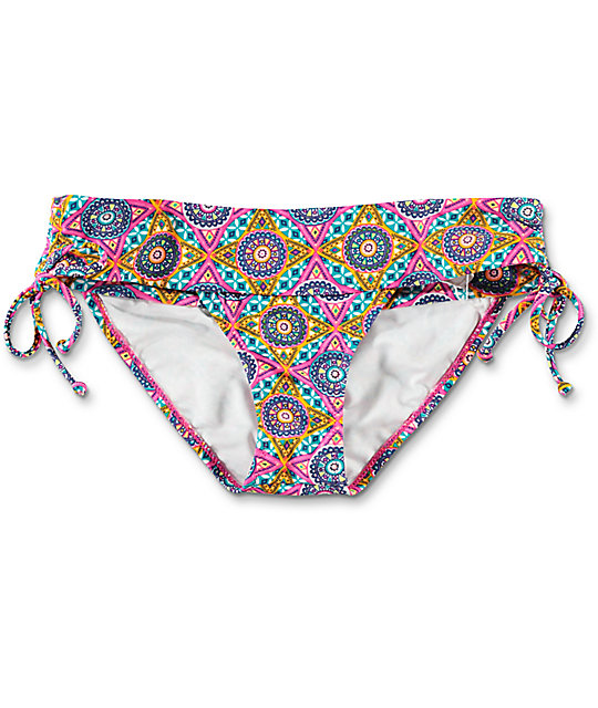 Volcom Current State Modest Bikini Bottom