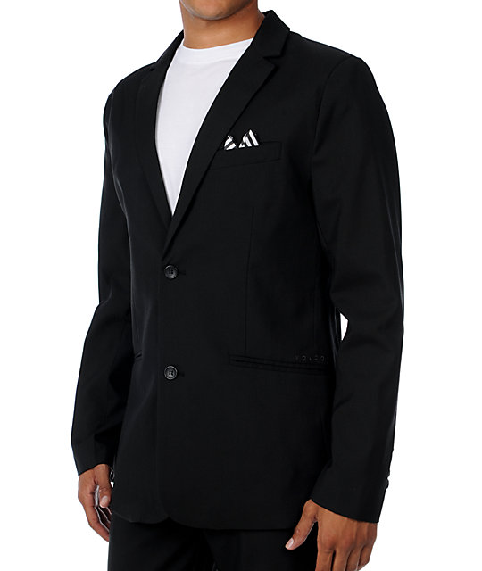 Volcom Dapper Stone Black Suit