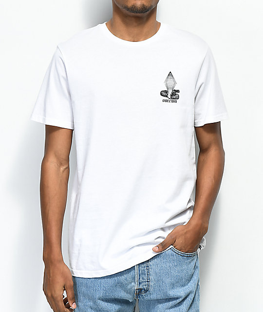 Volcom Digital Poison White T-Shirt
