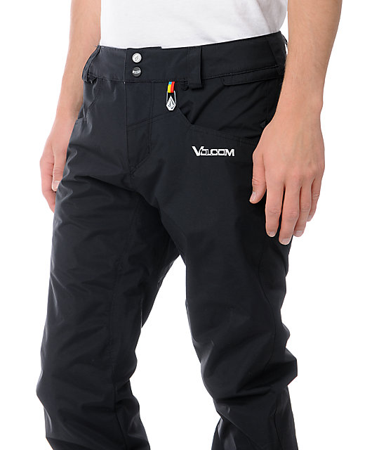 Volcom Emmet 5K Tight Black Snowboard Pants