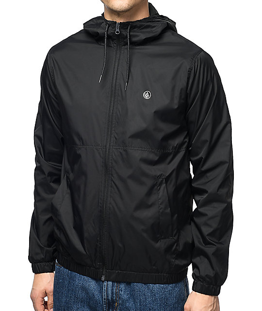 Volcom Ermont Black Mens Jacket