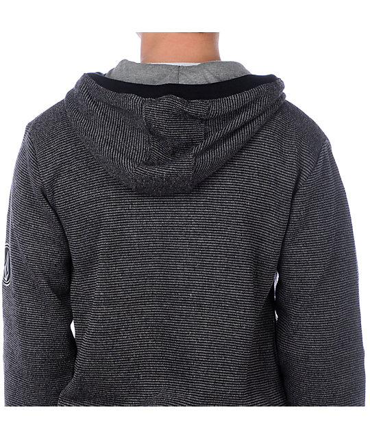 Volcom Fancy Slim Black Hoodie