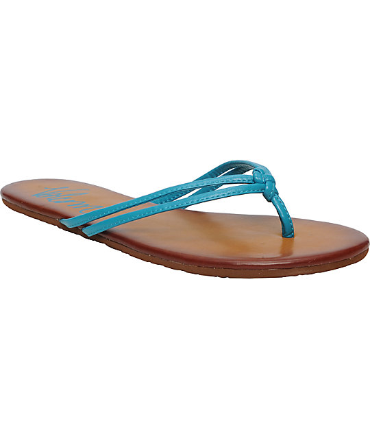 Volcom Forever Blue Creedler Sandals