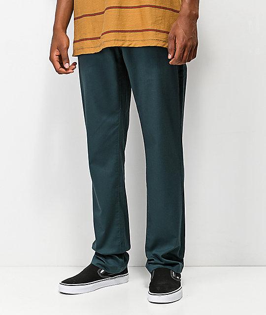 Rectos Modern Zumiez Frickin Verde Marino Pantalones Volcom 7wzRxTqSn